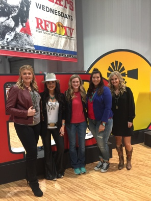 Myself, Danielle, Taylor Gilkey of RFD, Hannah and Amy Wilson